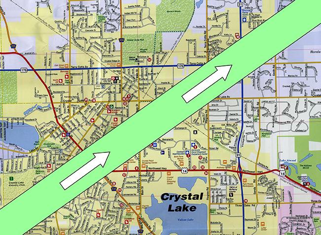 Palm Sunday Tornado – Crystal Lake Historical Society on illinois flood map, il map, illinois aurora map, weather map, illinois flooding map, illinois mine subsidence map, illinois wind map, illinois topo map, illinois sinkhole map, illinois precipitation map, illinois rock map, storm map, illinois water map, illinois union map, illinois doppler radar map, illinois state map, harrisburg illinois map, illinois snow map, illinois snowfall map, illinois earthquake,
