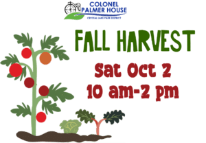 Fall Harvest at the Colonel Palmer House @ Colonel Palmer House